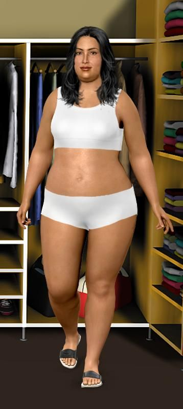 Simulador de pérdida de peso