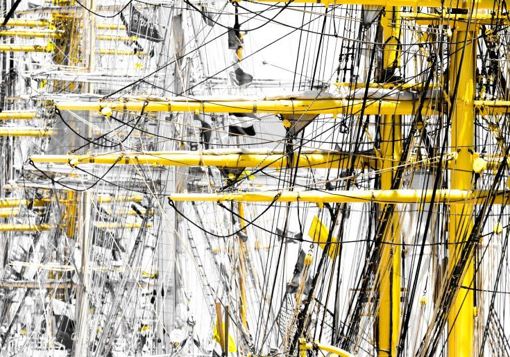 ARTFINDER: Tall Ships III by Victor de Melo - Abstract Graphics Photography. Lisbon hosted the Tall Ships Race event, organized by the Sailing Training International, gathered the most important 60 tall...