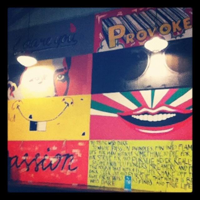 Fuel.ph Cafe Art Wall.: Art Wall