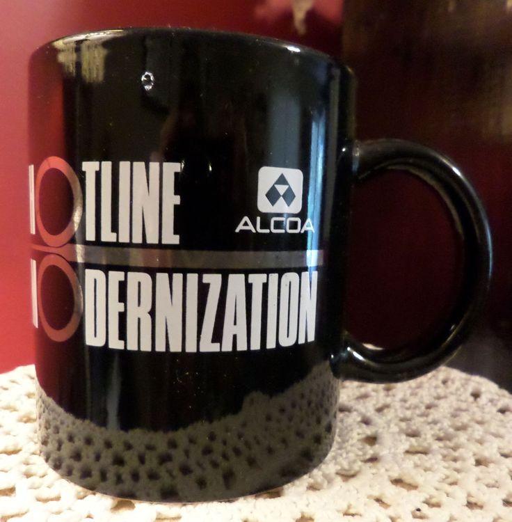 Alcoa Aluminum Company Hotline Modernization Coffee Mug 1982-1991 Commemoration #AlcoaAluminumCompanyofAmerica