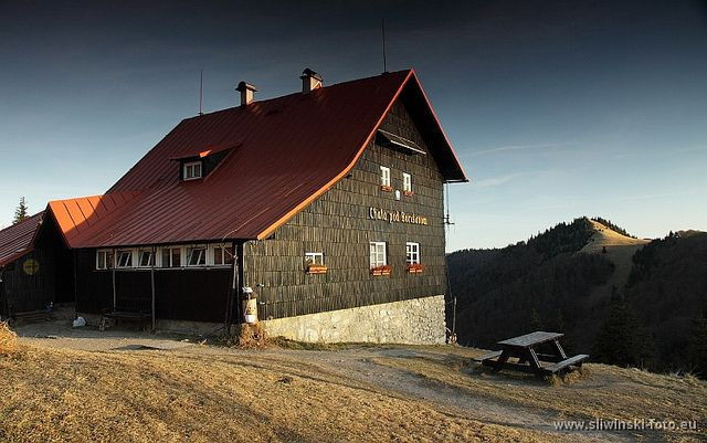 Mountain hut in the Greater Fatra, Slovakia.  www.simplycarpathians.com
