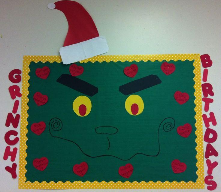 Grinch Bulletin Board