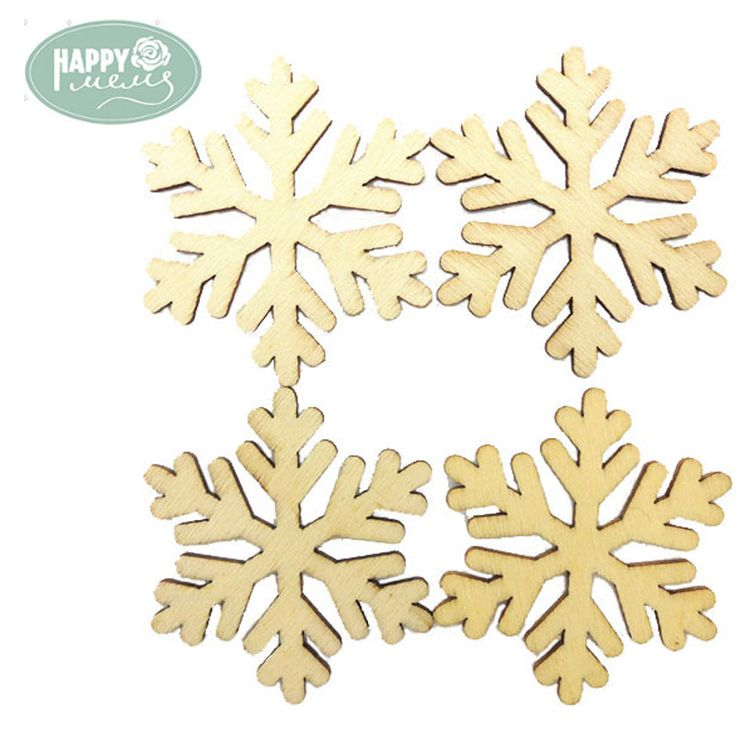 Cheap decorative decorative, Buy Quality decor diy directly from China decorative wood crafts Suppliers: Hot Selling Snowflakes unfinished wooden crafts supplies laser cut wood decoration for DIY and scrapbooking