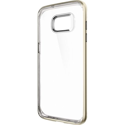 Spigen - Neo Hybrid Crystal Case for Samsung Galaxy S7 edge Cell Phones - Gold