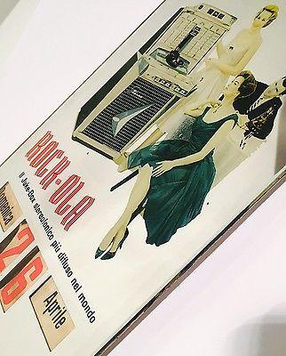 Oggetto Pubblicitario Vintage CALENDARIO PERPETUO  IN VETRO SPECCHIO Anni '50 | eBay