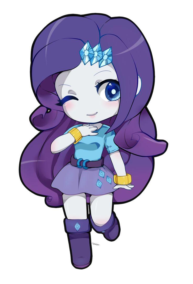 rarity equestria girl chibi/cute by choco-cocco.deviantart ...