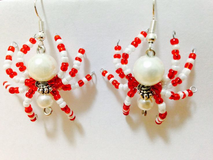 A personal favourite from my Etsy shop https://www.etsy.com/au/listing/399666227/spiders-earrings-halloween-hand-made