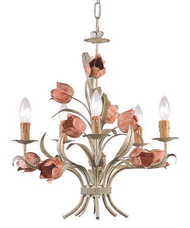 I just love this!   Sage Rose Southport Collection Chandelier by Crystorama on #zulily today!  I