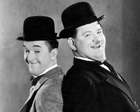 Stan Laurel e Oliver Hardy © Ansa