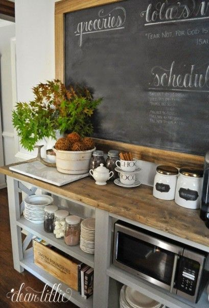 13 Ideas For A Home Coffee Bar