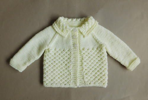 Morning Star Knitted Baby Sweater