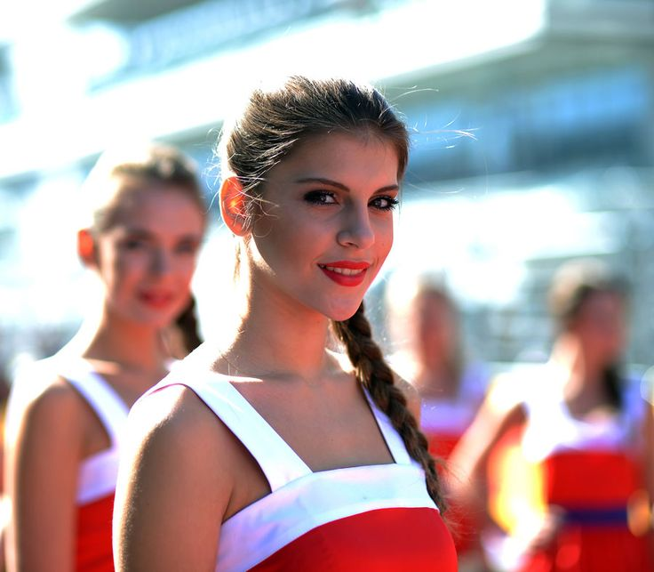 Hot Grid Girls of Russian Grand Prix. October 14, 2014