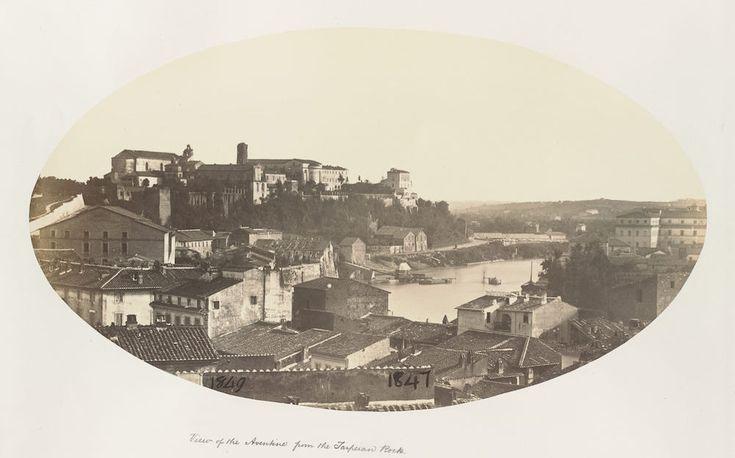 Aventino (1847-49) La foto è scattata dalla Rupe Tarpea.
