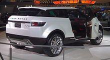Range Rover Evoque - Wikipedia, the free encyclopedia