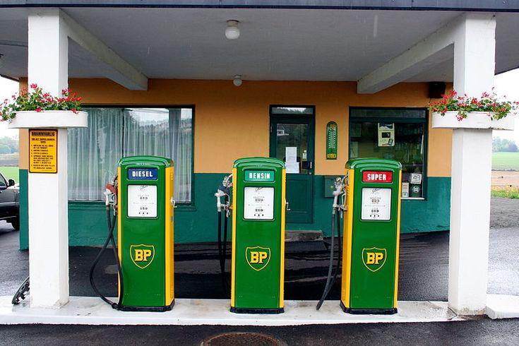 Gamle BP bensinstasjon, Nøtterøy