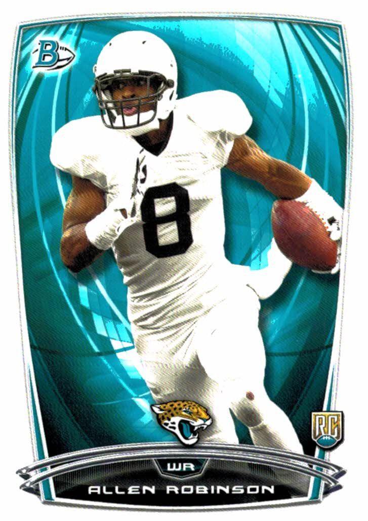 2014 Bowman Allen Robinson Rookie Card Jacksonville Jaguars