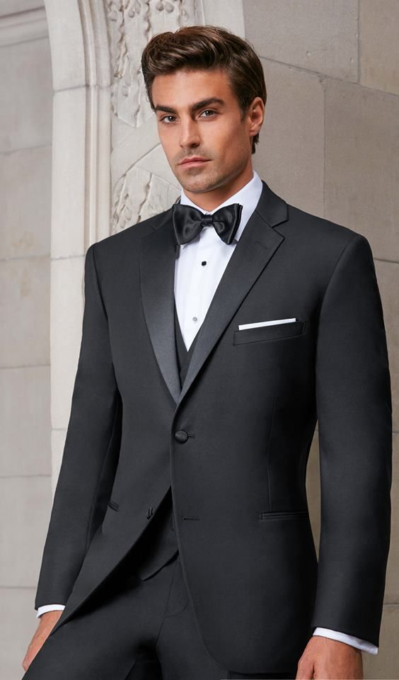 Your wedding will be one of the most important days of your life. You certainly deserve to look wonderful, which means that you will need a stunning suit. Choose a bow tie to complement it, and you will complete the right look.  #bowtie #wedding #weddingsuit #suit #tuxedojunction #suitrental