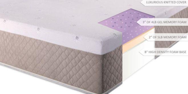 DreamFoam Mattress Ultimate Dreams 13-Inch Gel Memory Foam Review