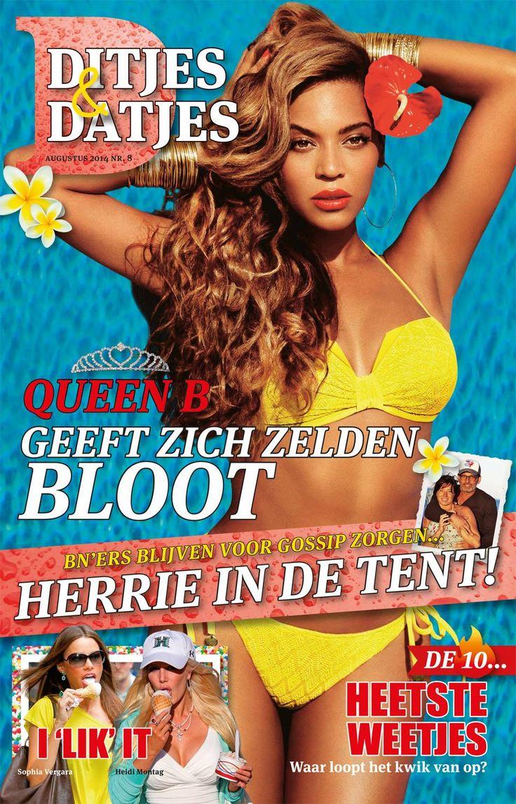 Cover Ditjes & Datjes 8, 2014 met Beyonce. #DitjesDatjes