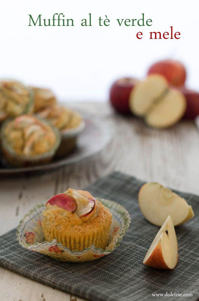 Muffin al Tè Verde e Mele