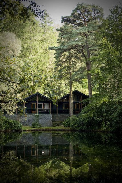 Scandinavian Lodges at the Langdale Hotel - Cumbria, England