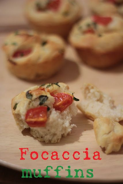 KakkuKatri: Focaccia muffinit
