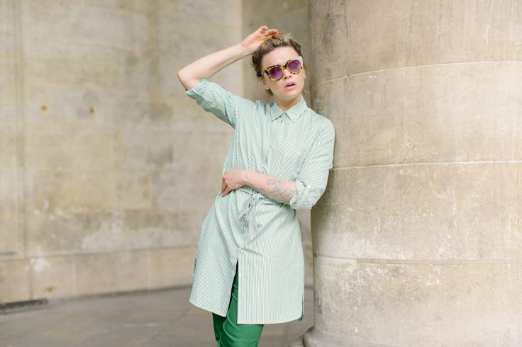 COMMENT COUDRE UNE ROBE CHEMISE TINO | Make My Lemonade