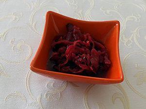 červená řepa salát