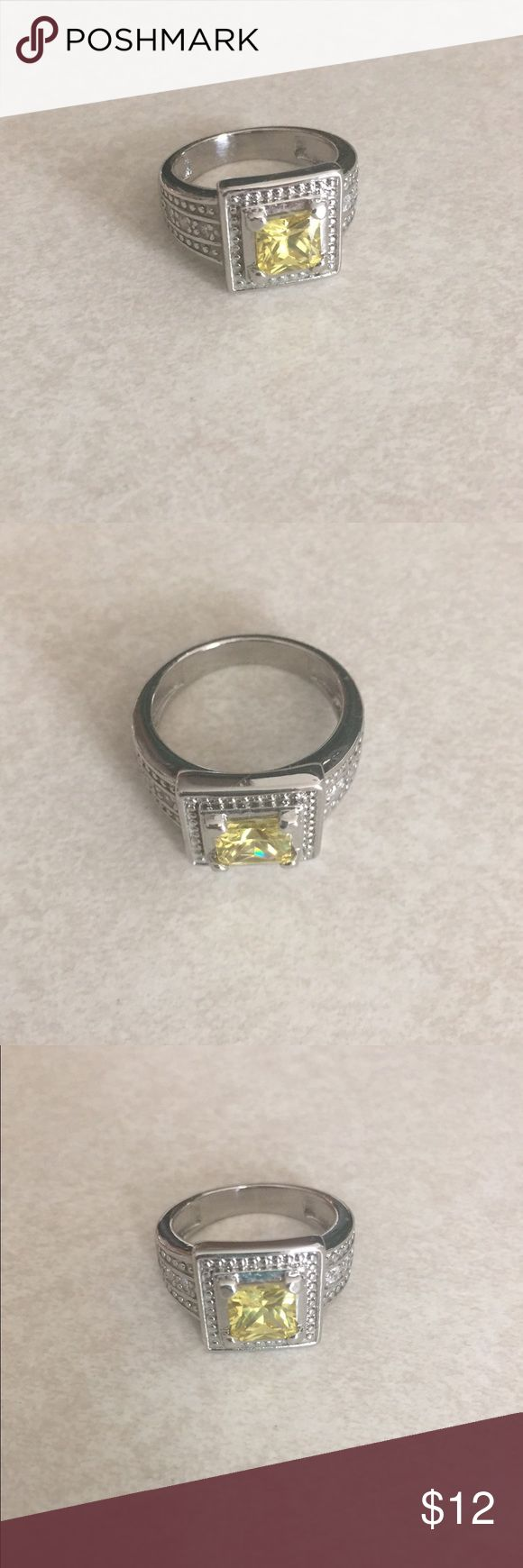 Diamond Candles ring Brand new; too big for me. Jewelry Rings