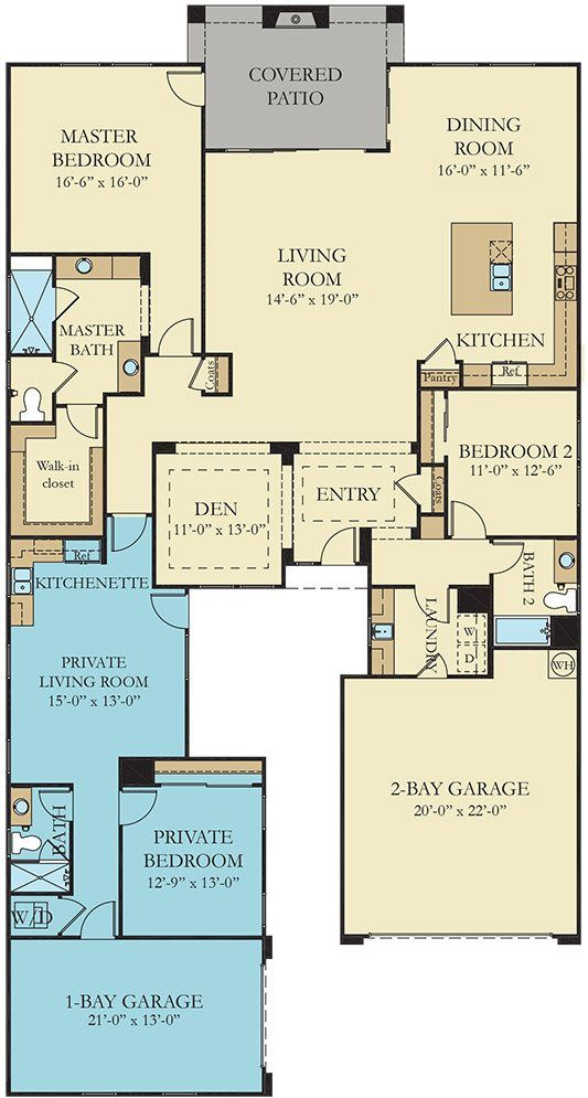 residence one the home within a home new home plan in