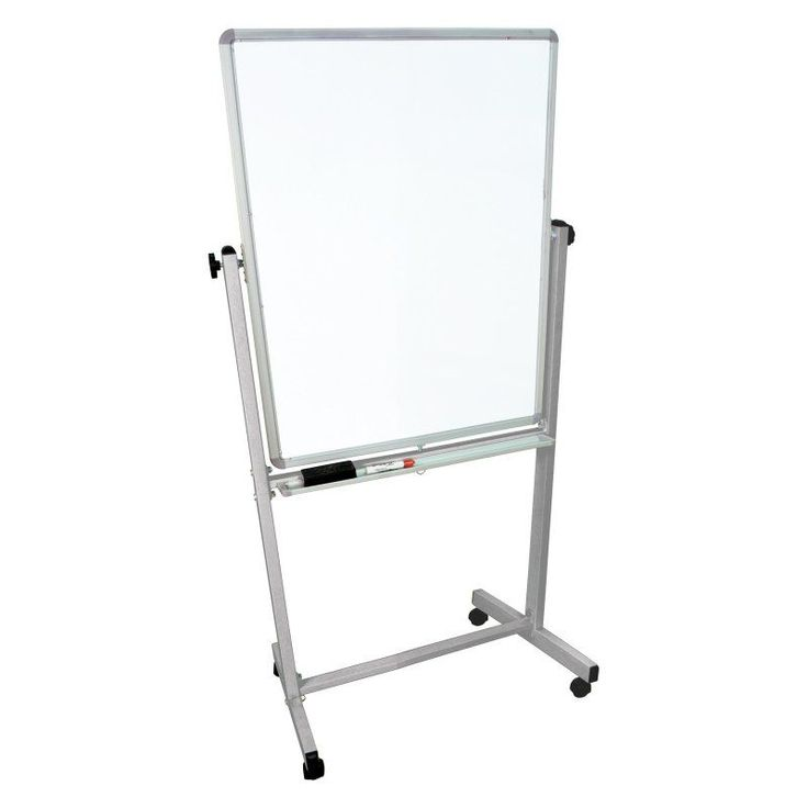Luxor 72 in. Mobile Whiteboard - MB3648WW