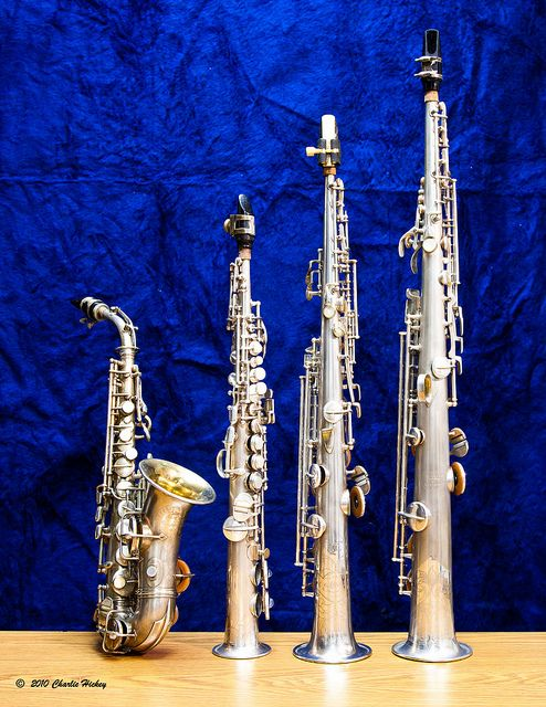 The Sopranos -- Saxophones by Charlie Hickey, via Flickr