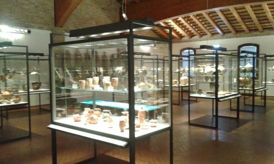Museo della Nave Romana (preserved ship artifacts form the area) - Comacchio