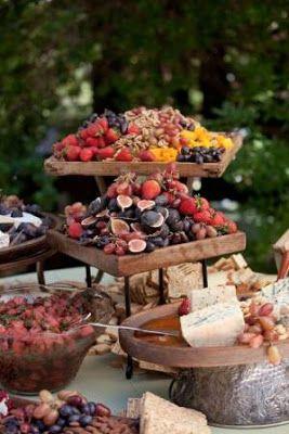 Creativa y Deliciosa Forma de Presentar Barras de Fruta para Fiestas