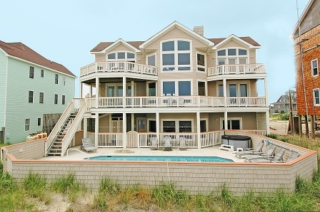 Hatteras island house north carolina beach houses for Hatteras homes