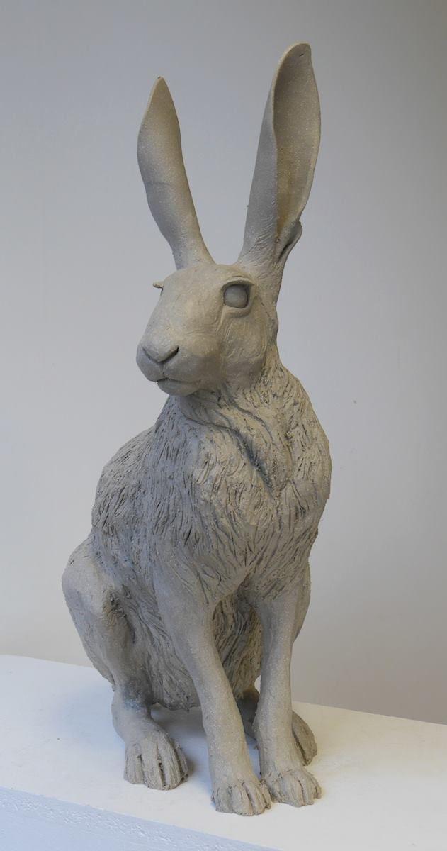 http://nickmackmansculpture.co.uk/blog/hare-sculpture