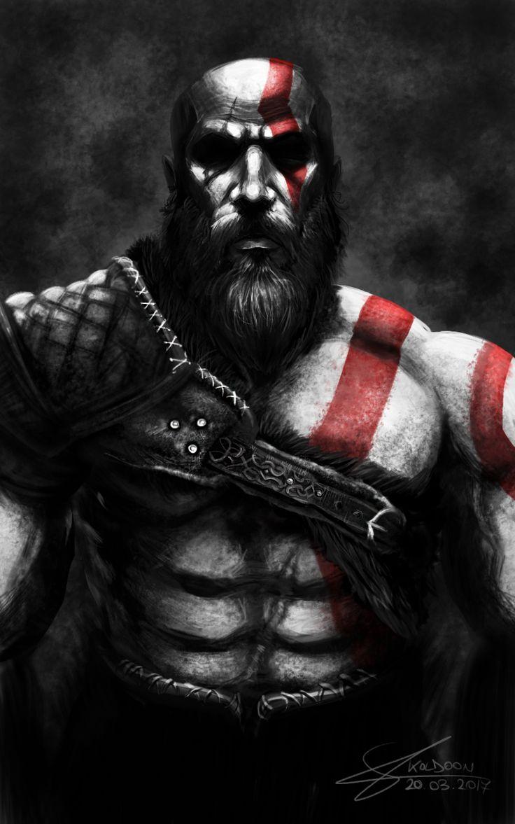 Kratos - God of War 4 by Koldoom