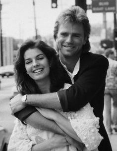 Richard Dean Anderson with Sela Ward