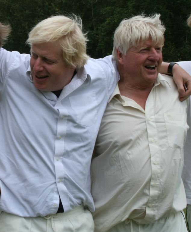 Boris Johnson's dad admits leaving his newborn son in the back of ...