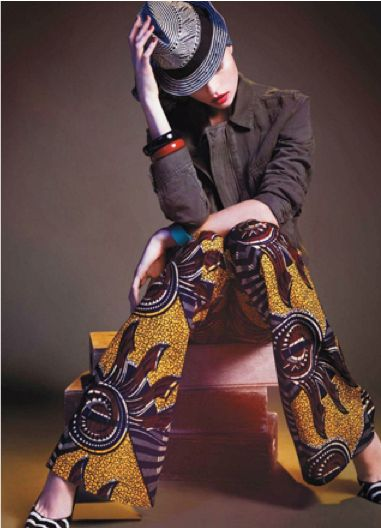 Out and About Africa: African Fashion, Bold Prints, Marcin Tyszka, African Prints, Africans Inspiration, Africans Prints Pants, Africans Style, Africans Fashion, Egl Tvirbutait