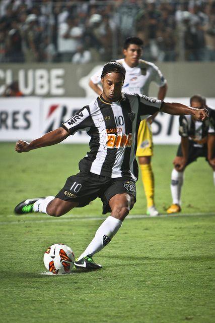 Ronaldinho in the Clube Atlético Mineiro