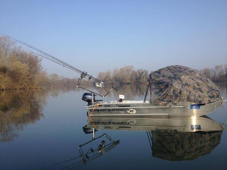 barque d'occasion - barque aluminium -barque de pêche - barque alu
