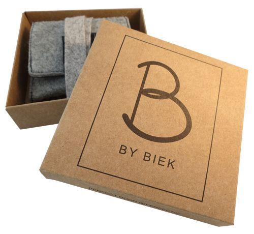 Duurzame verpakking vervaardigd uit gerecycled materiaal-By BIEK