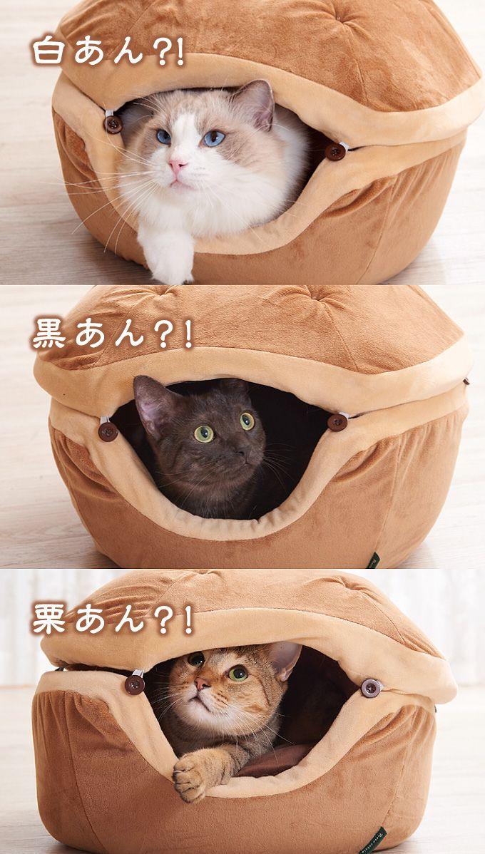【楽天市場】necosekai どらやきキャットベッド【猫用品/オリジナルベッド】【猫ベッド キャットベッド ペットベッド ソファ ハウス ベット 可愛い ねこ ネコ 】:necosekai 楽天市場店