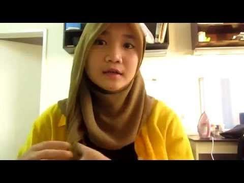 1 MINUTE!!! Simple Hijab Style Dian Pelangi by IMASahaja - YouTube