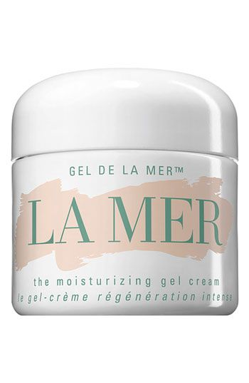 La Mer 'The Moisturizing Gel Cream'... This cream is a bit pricey but totally worth it. Recommend the gel type for more oily/sensitive skin. Your skin will love you:)