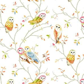 Owl Tree wallpaper from Betsy Olmsted
