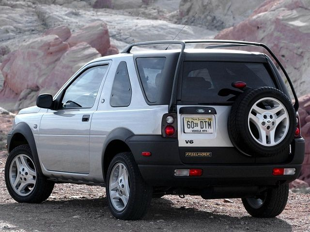 Land Rover Freelander 3-door (1997 – 2002).