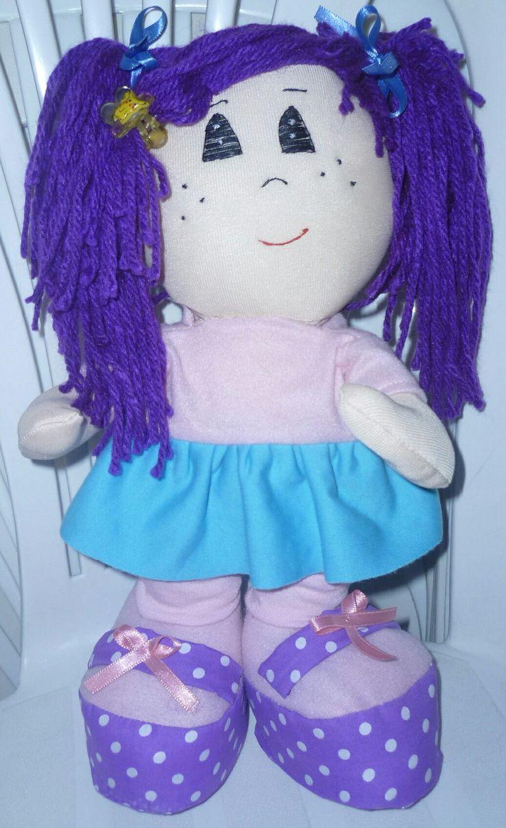 Esta fue mi primera muñeca , me la encargo mi hilo para su novia.