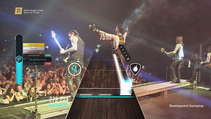 Activision et FreeStyleGame finissent cette semaine avec la présentation des Premium Shows qui seront présents dans Guitar Hero Live. Cette nouveauté apportera aux joueurs des récompenses dans le jeu comme des partitions uniques et exclusives ou des cartes de jeu personnalisées qui serviront à vous la raconter face aux autres guitaristes virtuels en ligne.